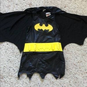 Batgirl costume with cape